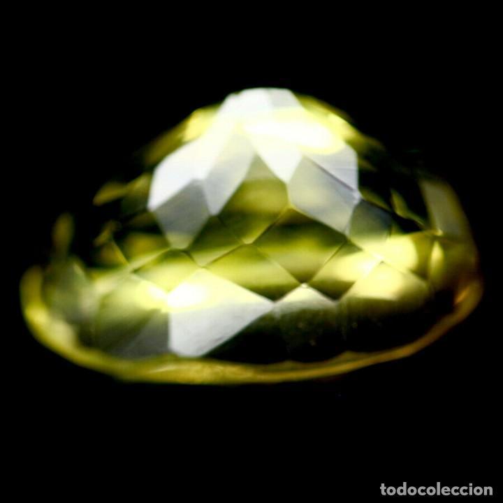 Coleccionismo de gemas: Cuarzo Amarillo Limon 16,0 x 11,0 mm. - Foto 3 - 225282145