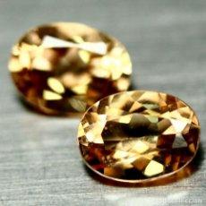 Coleccionismo de gemas: TOPACIO CHAMPANG 8,0 X 6,0 MM.. Lote 226149810