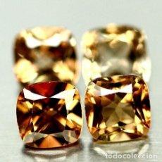 Coleccionismo de gemas: TOPACIO CHAMPAN 6.0 X 6.0 MM. Lote 226152913