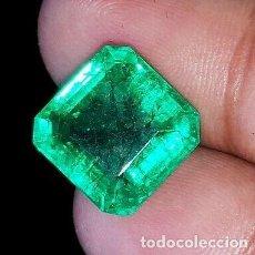 Collectionnisme de gemmes: ESMERALDA PANNA NATURAL DE COLOMBIA CON TALLA OCTAGONAL Y 7.95 CT. CERTIFICADA. Lote 226869800
