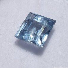 Collectionnisme de gemmes: EXCEPCIONAL AGUAMARINA NATURAL DE 4.00 QUILATES VALORADO EN MÁS DE 1000 EUROS. Lote 227127615