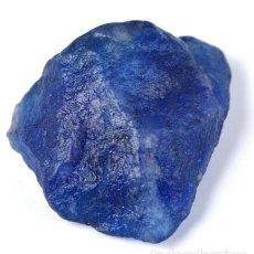 Collectionnisme de gemmes: ZAFIRO AZUL NATURAL DE SUDÁFRICA EN BRUTO CON 142.05 CT. CON CERTIFICADO RASTREABLE.. Lote 229669985