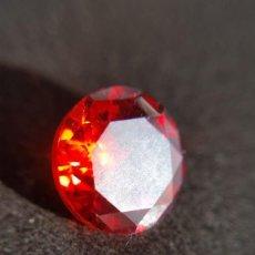 Coleccionismo de gemas: CIRCÓN ROJO SANGRE NATURAL DE CAMBOYA, TALLA REDONDA CON 4.5 CT.. Lote 230370680