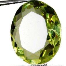 Coleccionismo de gemas: BONITO TOPACIO FLUX AMARILLO DE BRASIL TALLA OVAL CON 7.5 CT.. Lote 231495120