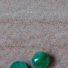 Coleccionismo de gemas: LOTE DE 3 ESMERALDAS NATURALES. Lote 231321365