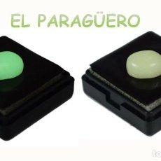 Coleccionismo de gemas: OPALO VERDE BLANCO DE 7,95 KILATES CERTIFICADO AGI MEDIDA 1,3X1,1X0,6 CENTIMETROS-P5. Lote 233293350