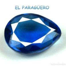 Coleccionismo de gemas: TANZANITA LAGRIMA AZUL DE 6,75 KILATES CERTIFICADO AGI MEDIDA 1,3X1,1X0,6 CENTIMETROS-P2. Lote 233298350