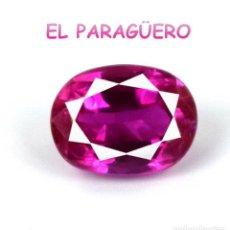 Coleccionismo de gemas: TURMALINA RUBILLETE ROSA DE 7 KILATES CERTIFICADO AGI MEDIDA 1,1X0,8X0,6 CENTIMETROS-P1. Lote 233313895
