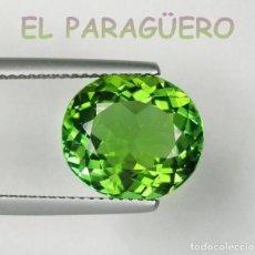 Coleccionismo de gemas: TURMALINA PARAIBA VERDE DE 5,75 KILATES CERTIFICADO AGI MEDIDA 1,2X1,1X0,6 CENTIMETROS-P5. Lote 233606715