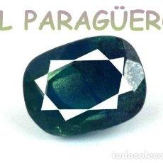 Coleccionismo de gemas: TURMALINA PARAIBA BICOLOR DE 6,15 KILATES CERTIFICADO AGI MEDIDA 1,0X0,8X0,6 CENTIMETROS-P6. Lote 233607500