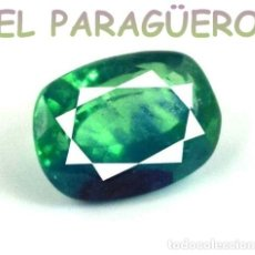 Coleccionismo de gemas: TURMALINA PARAIBA BICOLOR DE 4,10 KILATES CERTIFICADO AGI MEDIDA 0,9X0,7X0,5 CENTIMETROS-P7. Lote 233607940
