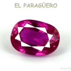 Coleccionismo de gemas: TURMALINA RUBILLETE ROSA DE 5,80 KILATES CERTIFICADO AGI MEDIDA 1,1X0,8X0,6 CENTIMETROS-P8. Lote 233608465