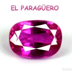 Coleccionismo de gemas: TURMALINA RUBILLETE ROSA DE 5,80 KILATES CERTIFICADO AGI MEDIDA 1,2X0,9X0,6 CENTIMETROS-P9. Lote 233610330