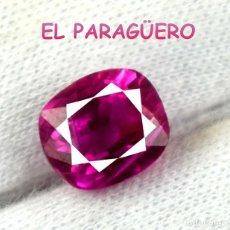 Coleccionismo de gemas: TURMALINA RUBILLETE ROSA DE 5,80 KILATES CERTIFICADO AGI MEDIDA 0,9X0,8X0,6 CENTIMETROS-P10. Lote 233610635