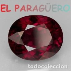 Coleccionismo de gemas: GRANATE OVAL CALIDAD SUPERIOR DE 10,80 KILATES - MEDIDA 1,7X1,4X1 CENTIMETROS- X4. Lote 234396220