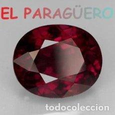 Coleccionismo de gemas: GRANATE OVAL CALIDAD SUPERIOR DE 10,83 KILATES - MEDIDA 1,7X1,4X1 CENTIMETROS- X3. Lote 234396460