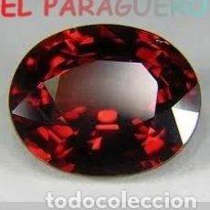 Coleccionismo de gemas: GRANATE OVAL CALIDAD SUPERIOR DE 13 KILATES - MEDIDA 1,7X1,4X1 CENTIMETROS- X10. Lote 234397045