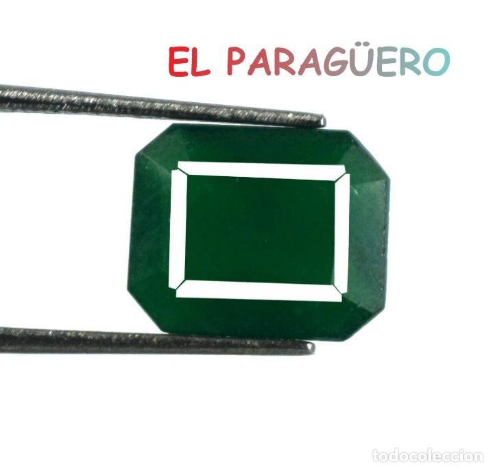 ESMERALDA VERDE DE 5,70 KILATES - MEDIDA 1,1X0,9X0,4 CENTIMETROS- P19 (Coleccionismo - Mineralogía - Gemas)