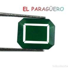 Coleccionismo de gemas: ESMERALDA VERDE DE 5,70 KILATES - MEDIDA 1,1X0,9X0,4 CENTIMETROS- P19. Lote 234398315
