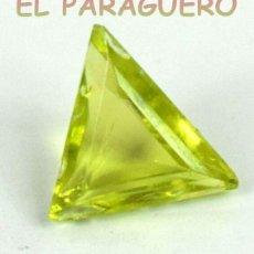 Coleccionismo de gemas: PERIDOT VERDE OLIVA DE 4,05 KILATES - MEDIDA 1,4X1,1X0,6 CENTIMETROS- P4. Lote 234401185
