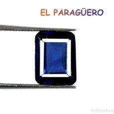 Coleccionismo de gemas: TANZANITA OCTOGONAL AZUL DE 8,10 KILATES CERTIFICADO AGI MEDIDA 1,1X0,9X0,6 CENTIMETROS-P4. Lote 234410840