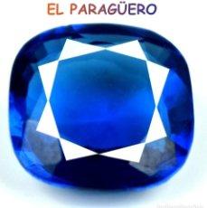 Coleccionismo de gemas: TANZANITA COJIN AZUL DE 7,30 KILATES CERTIFICADO AGI MEDIDA 1,2X1,2X0,6 CENTIMETROS-P6. Lote 234411380
