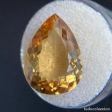 Coleccionismo de gemas: CITRINO AMARILLO DE 12.5CT.CUSHION CUT.. Lote 234682155