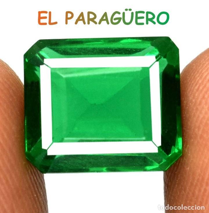 GRANATE VERDE DE 6,05 KILATES CERTIFICADO AGI MEDIDA 1,1X0,9X0,7 CENTIMETROS-P20 (Coleccionismo - Mineralogía - Gemas)