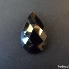 Coleccionismo de gemas: ONICE TALLA CABUJON PERA FACETADA. MEDIDA 35 X 23 MM. PESO 46,40 CTS. BRASIL. SIGLO XX. Lote 234853395