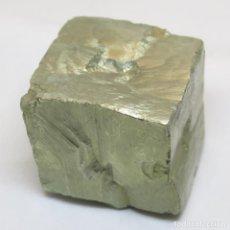 Coleccionismo de gemas: CUBO DE PIRITA MUY GRANDE: 4,5X4,5X4 CM. 365 GRS.. Lote 235060725