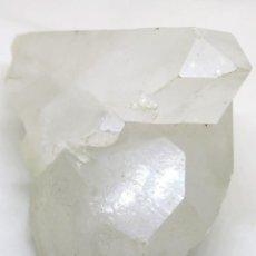 Coleccionismo de gemas: GRAN DRUSA DE CUARZO BLANCO DE BRASIL: 13X12,5X7 CM. 705 GRS.. Lote 235066170