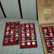 Coleccionismo de gemas: COLECCION DE GEMAS Y MINERALES TODOS TALLADOS O PULIDOS. Lote 236211300