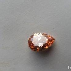 Collezionismo di gemme: ZAFIRO AMELADO KASHAM DE BRASIL TALLA DE PERA CON 18.5 CT.. Lote 237929845