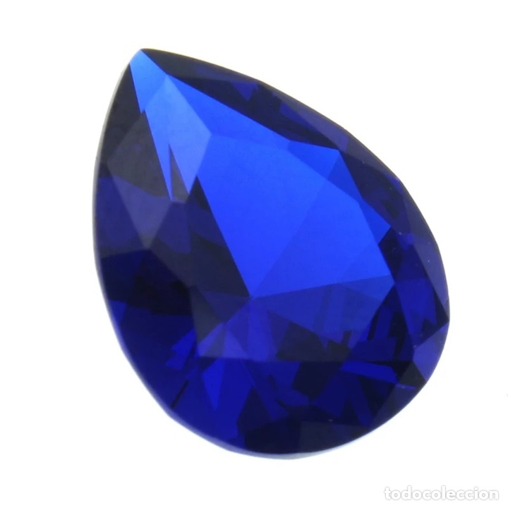 Coleccionismo de gemas: Zafiro 5,26 ct. 9x11 mm - Foto 2 - 237941825