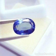 Collezionismo di gemme: BONITA TANZANITA AZUL DE TALLA OVAL CON 7.87 CT CERTIFICADA. Lote 238568875