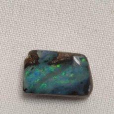Coleccionismo de gemas: PRECIOSO CABUCHÓN DE ÓPALO BOULDER. Lote 243897045