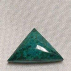 Coleccionismo de gemas: PRECIOSO CABUCHÓN DE CRISOCOLA EXCELENTE CALIDAD. Lote 243932270