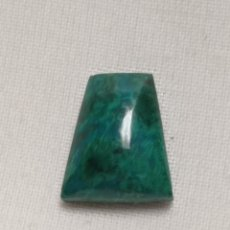 Coleccionismo de gemas: PRECIOSO CABUCHÓN DE CRISOCOLA EXCELENTE CALIDAD. Lote 243932295