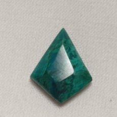 Coleccionismo de gemas: PRECIOSO CABUCHÓN DE CRISOCOLA EXCELENTE CALIDAD. Lote 243932305