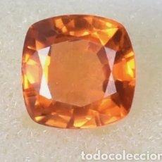 Coleccionismo de gemas: EXCELENTE NATURAL ZAFIRO PADPARADSCHA CERTIFICADO DE 5.40 QUILATES. Lote 245056530