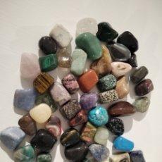 Coleccionismo de gemas: LOTE 52 MINERALES PULIDOS. Lote 246509980