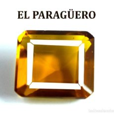 Coleccionismo de gemas: CITRINO NARANJA DE 6,80 KILATES CERTIFICADO AGI MEDIDA 1,1X1,0X0,6 CENTIMETROS-P1. Lote 247622110