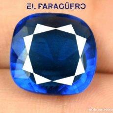 Coleccionismo de gemas: TANZANITA DE 8,05 KILATES CERTIFICADO AGI MEDIDA 1,3X1,2X0,6 CENTIMETROS-P8. Lote 247734710