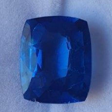 Coleccionismo de gemas: EXCELENTE NATURAL ZAFIRO AZUL CERTIFICADO DE 10.42 QUILATES. Lote 248255360