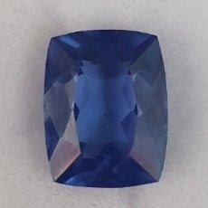 Coleccionismo de gemas: EXCELENTE NATURAL TANZANITA AZUL CERTIFICADA DE 9.22 QUILATES. Lote 248260030