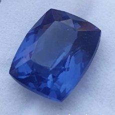 Collezionismo di gemme: EXPECTACULAR NATURAL TANZANITA AZUL CERTIFICADA DE 9.57 QUILATES. Lote 248271925