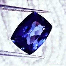 Collezionismo di gemme: TANZANITA NATURAL 10.35.CT + CERTIFICADO GGL - 12.99 X 9.98 X 7.40.MM. Lote 249535605