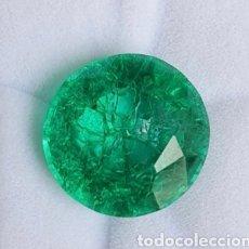 Collezionismo di gemme: SALIDA A 1 EURO OPORTUNIDAD NATURAL ESMERALDA DE 7.00 QUILATES CERTIFICADA. Lote 251839840