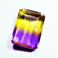 Collezionismo di gemme: ALEXANDRITA 56.90.CT + CERTIFICADO GGL - 29.96 X 21.98 X 10.70.MM. Lote 251913755