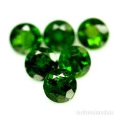 Collezionismo di gemme: DIOPSIDO DE CROMO 5 MM. Lote 252628620